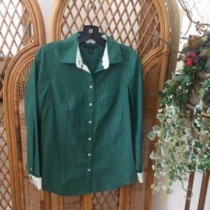 Tommy Hilfiger Women's Button Down Shirt